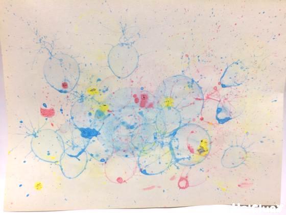 まるでマジック!シャボン玉アート〜幅広い年齢で楽しめるお絵描き遊び〜