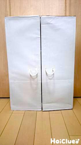 たっぷり収納!手作り冷蔵庫〜段ボールで作るおままごとアイテム〜