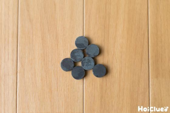 丸い磁石の写真