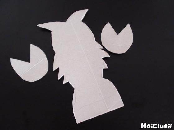 厚紙で作ったザリガニ