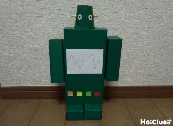 完成したtロボットの写真