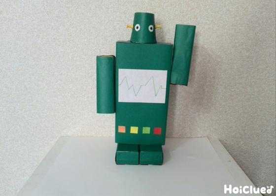 ウィーン…ガシャ!動く空き箱ロボ〜廃材で楽しむ本格製作遊び〜