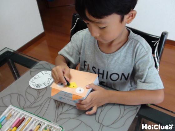 文字盤の絵を描いた写真