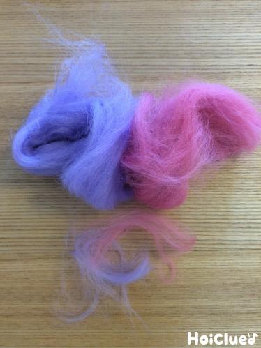 色つきの綿の写真