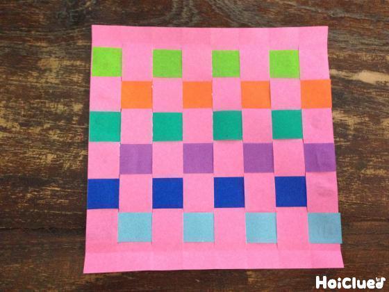 編み込み折り紙〜折り紙だけで楽しめる製作遊び〜