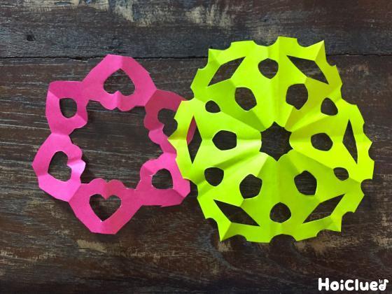 折り紙飾りの写真
