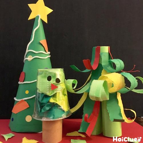 レパートリーがグンと広がる!クリスマスツリー製作アイディア15選