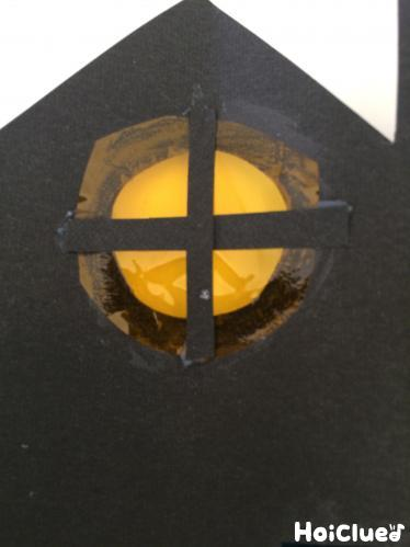 窓枠を作った写真