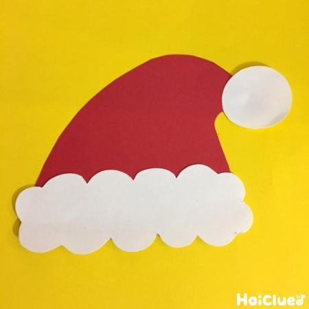 サンタの帽子の写真