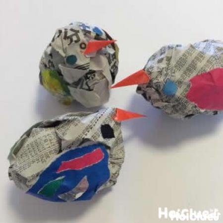 ゆらゆらトリさん〜3つのマルが変身!簡単ステップの手作りおもちゃ
