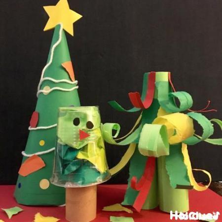 レパートリーがグンと広がる!?クリスマスツリー製作アイディア15選