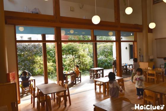 食堂の写真