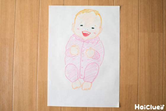 赤ちゃんの絵の写真