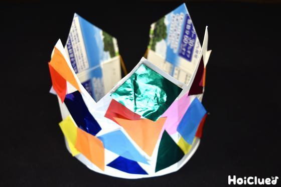 完成した王冠の写真