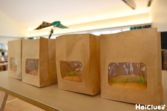 お昼の給食の写真