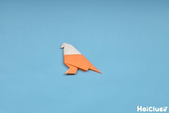 完成した小鳥の写真