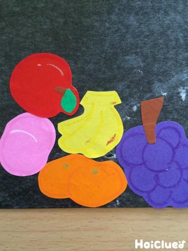 折り紙の果物の品物