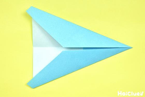 もう反対側も折り重ねた折り紙の写真
