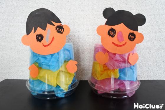 スケルトン織姫&彦星〜暑い夏にぴったり!涼しげ着物の七夕飾り〜