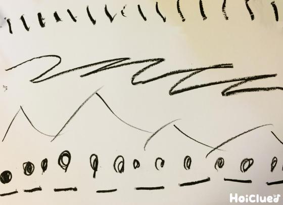言葉の線画遊び〜イメージを表現して楽しむお絵かき遊び〜