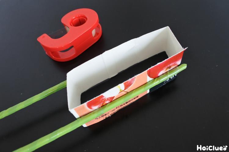 貼られた割り箸