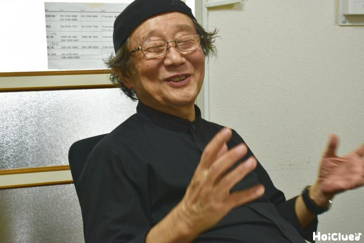 笑顔の和久洋三さん