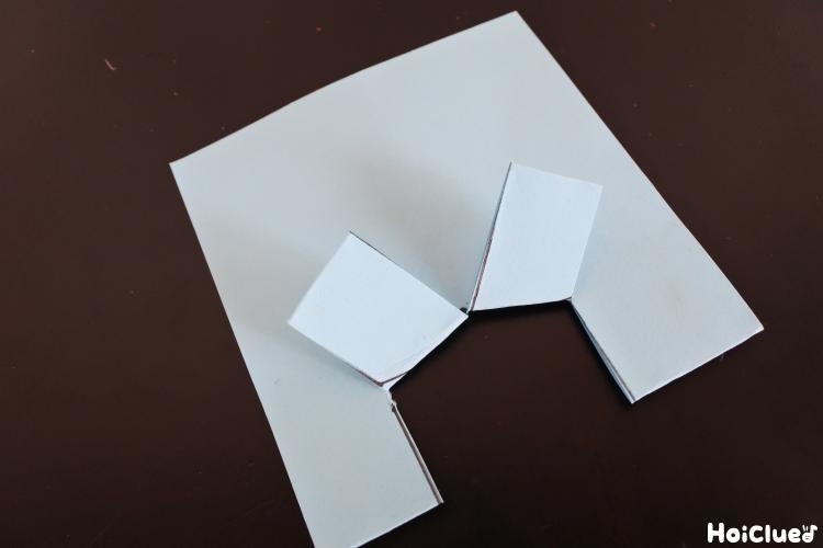 おりぐせのついた紙