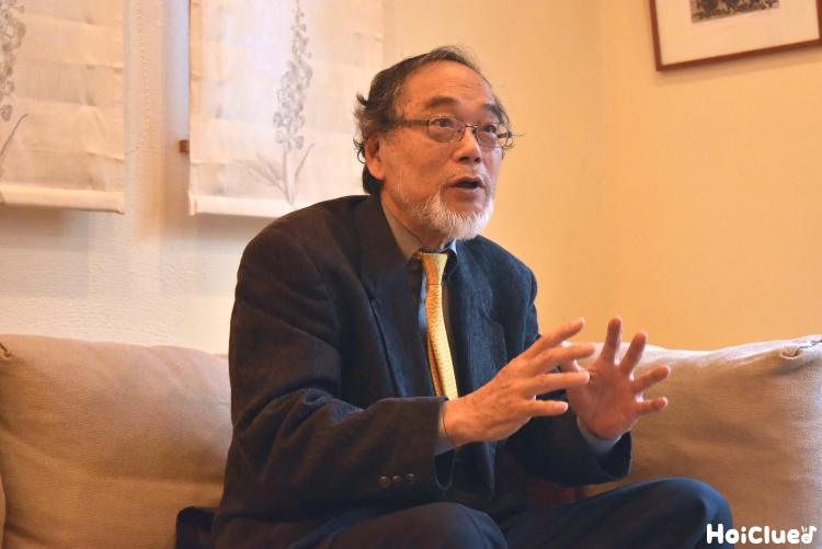 汐見先生の写真