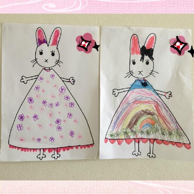 【アプリ投稿】わたしのワンピース(5歳児) 絵本あそび