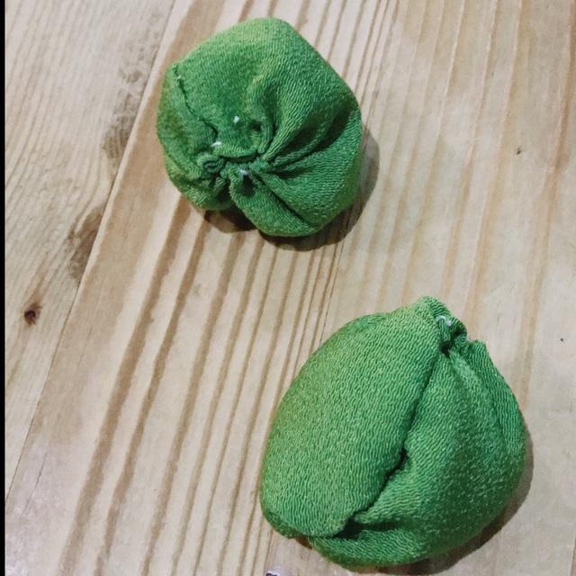 【アプリ投稿】布と米でお手玉