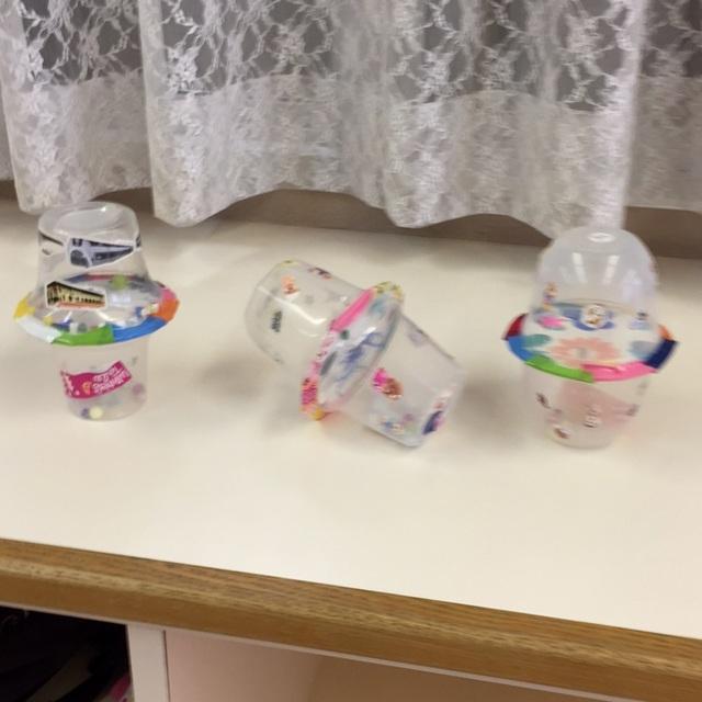 【アプリ投稿】プラスチック容器で製作