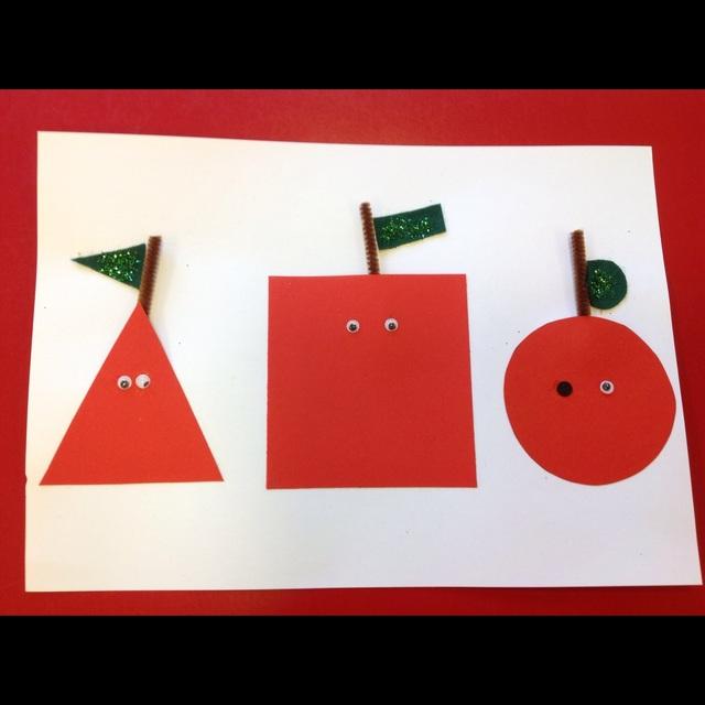 【アプリ投稿】色々な形のリンゴ