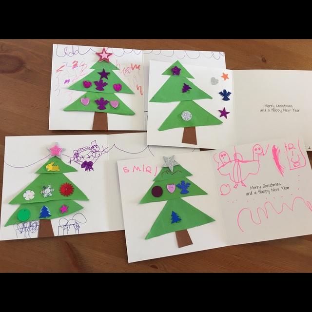 【アプリ投稿】クリスマスカード 制作