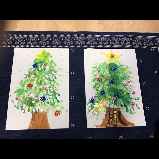 【アプリ投稿】【1歳〜】*クリスマスツリー