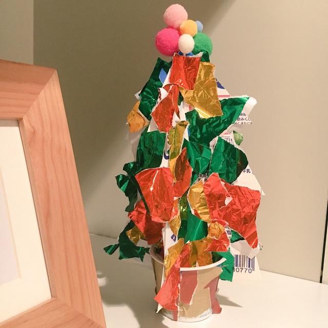 【アプリ投稿】卓上クリスマスツリー