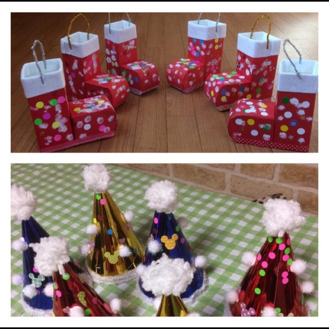 【アプリ投稿】クリスマス製作 1歳児