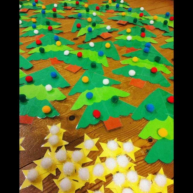 【アプリ投稿】【クリスマスツリークラフト】