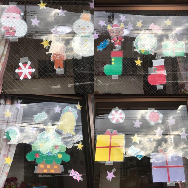 【アプリ投稿】【クリスマス】【窓画】