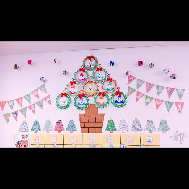 【アプリ投稿】12月カレンダーの壁面