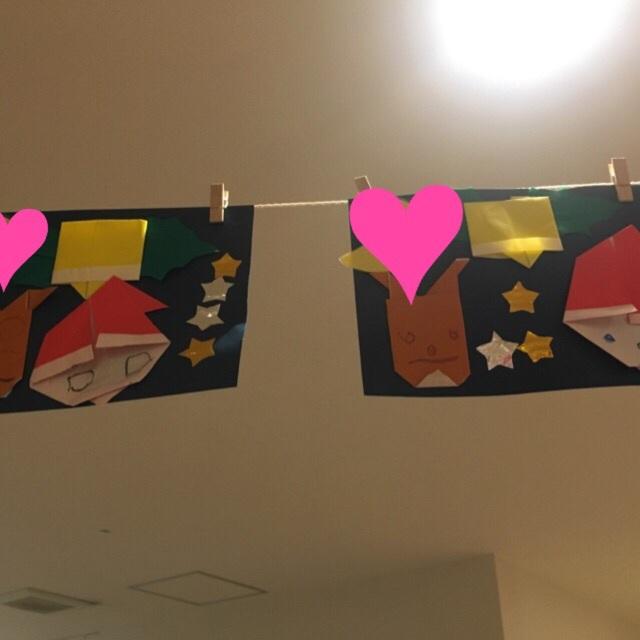 【アプリ投稿】☆折り紙製作☆サンタ・ベル・トナカイ