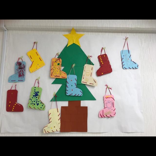 【アプリ投稿】12月の壁面飾り