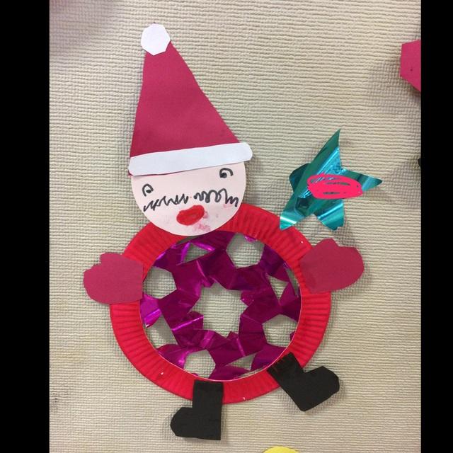 【アプリ投稿】サンタクロース 壁面 4歳児