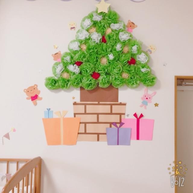 【アプリ投稿】クリスマス 壁画