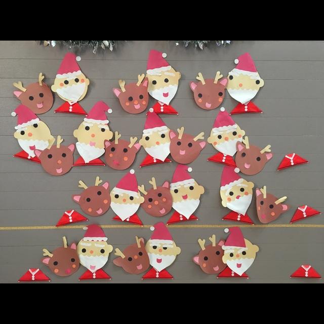 【アプリ投稿】クリスマス会工作