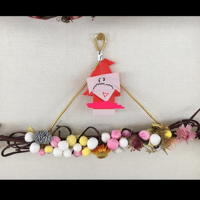 【アプリ投稿】さつま芋のツルでクリスマスの飾り☆