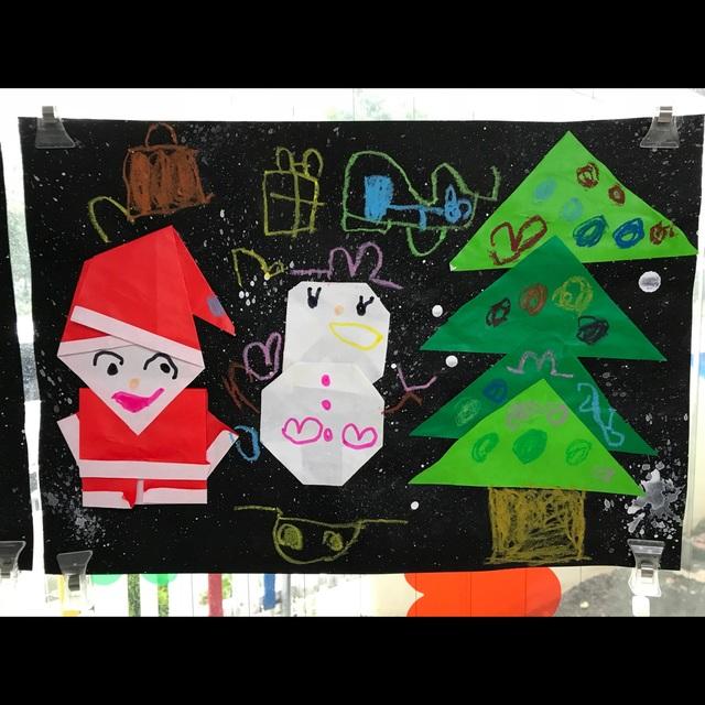 【アプリ投稿】クリスマス折り紙