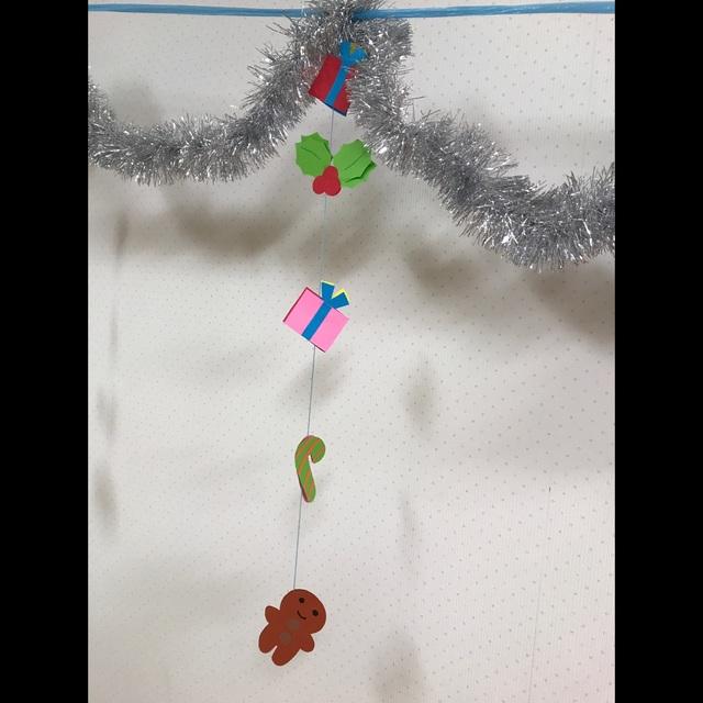 【アプリ投稿】ユラユラ飾り0歳児クラス