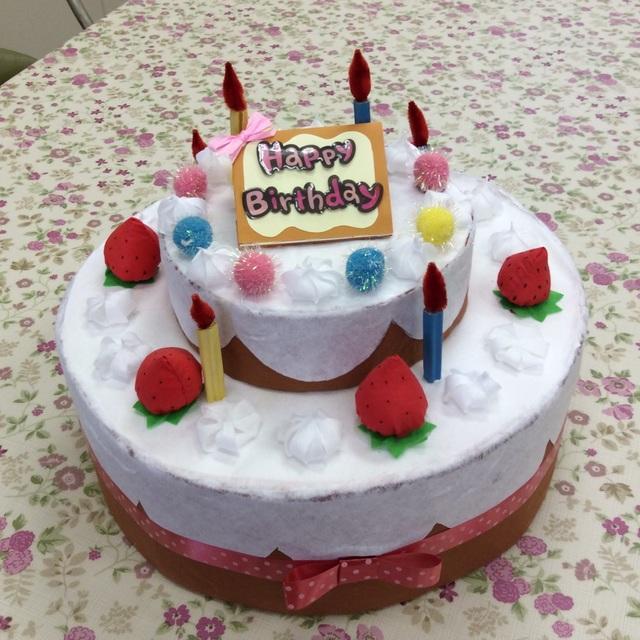 【アプリ投稿】お誕生日会用ケーキ