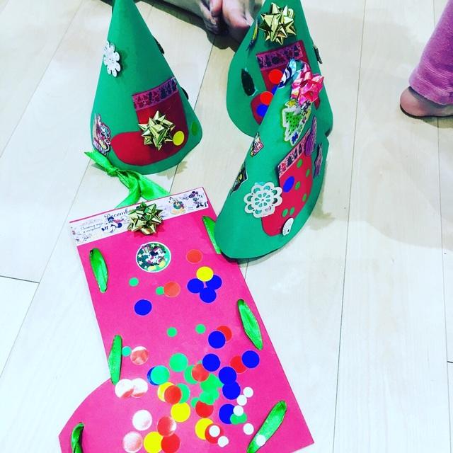 【アプリ投稿】【クリスマスツリー帽子】