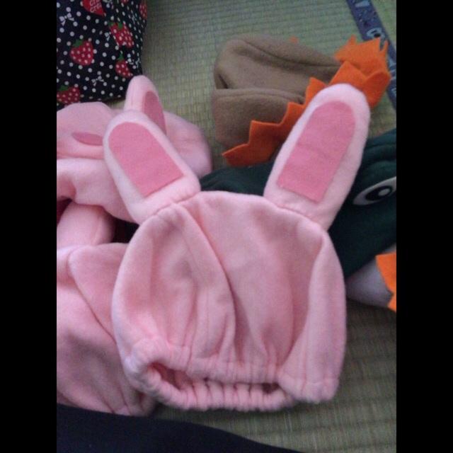 【アプリ投稿】小道具『ピンクうさぎの帽子』